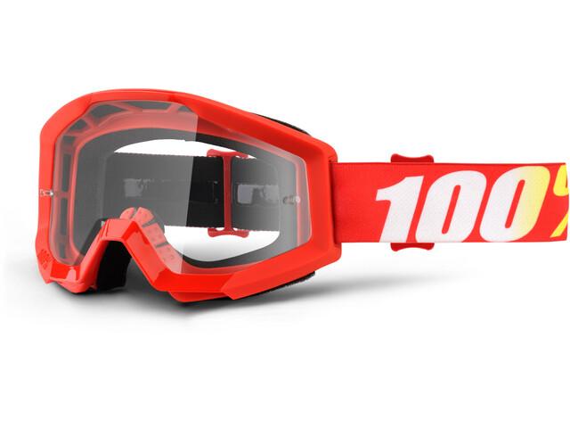 100% Strata Goggles furnace-clear
